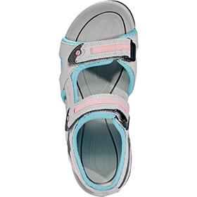 Hi-Tec GT Strap Sandals Kids cool grey/curacou blue/papaya punch